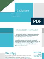 People vs. Ladjaalam