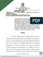 TJRJ Vizinhança - dano moral e material poluição sonora omissão municipio