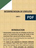 unit I & II