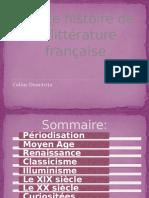 Pettite histoire de la littérature française