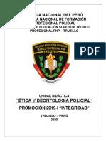 SILABO DE ETICA y DEONTOLOGIA POLICIAL EESTP PNP - TRUJILLO --