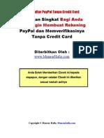 Panduan Daftar Paypal Tanpa Kartu Kredit