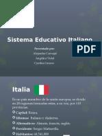 Sistema educativo italiano