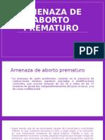amenaza de aborto prematuro.pptx