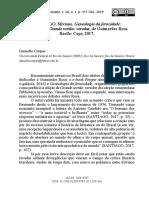 Genealogia da Ferocidade, de Silviano Santiago - Resenha de Daniela Corpas