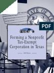 Forming Nonprofit