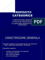 PROPOZITII CATEGORICE (2)