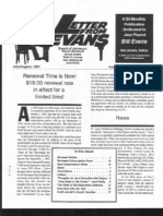 Letter From Evans, Vol 2, No  6