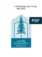 Blueprint for Reopening Lane County