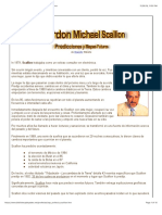 Gordon Michael Scallion - Predicciones y Mapas Futuros