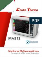 241 Ex Me 005 d Folleto Monitores Ma512
