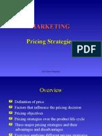 Marketing Pricing Strategies 1626