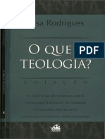 O que é teologia. - Elisa Rodrigues