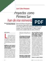 Entrevista a Luis Calvo, Director de Pirineos Sur