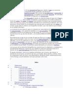 Monografia sobre la hidrologia