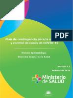 Plan de contingencia coronavirus v.1.3 -02-20