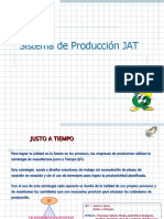 Sistema de Producción JIT (just in time)