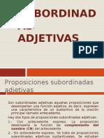 3-TEORÍA-PROPOSICIONES SUBORDINADAS ADJETIVAS.ppt