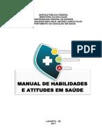 Manual de habilidades e atitudes em saúde 2018