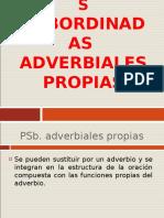 6-TEORÍA-PROPOSICIONES SUBORDINADAS ADVERBIALES PROPIAS.ppt