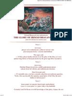 THE GLORY OF SRIMAD BHAGAVAD GITA