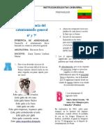 GUIA CALENTAMIENTO GENERAL 6 Y 7