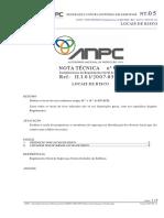 NOTA T+ëCNICA 05 LOCAIS DE RISCO.pdf