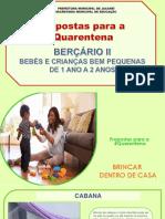 BERÇÁRIO II - Propostas 2º caderno Ed. Infantil - Creche