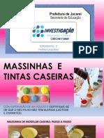 2º  Caderno de Propostas para Ed. Infantil -  MASSINHA E TINTA CASEIRA
