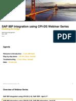 SAP IBP Integration using CPI-DS BW Integration