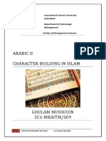 Character Building in Islam