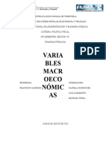 MATERIAL - VARIABLES MACROECONOMICAS