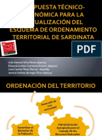 PROPUESTA TECNICO-ECONÓMICA PARA LA ACTUALIZACIÓN DEL ESQUEMA DE