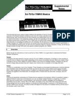 Roland DJ-70MKI/DJ-70MKII Basics SN 05-23-19