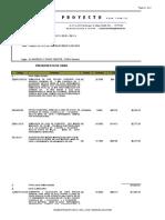 Presupuesto Foso Tlapa G.