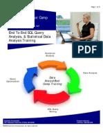 Data Analyst Boot Camp