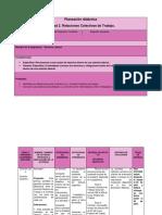 Planeación Didáctica Unidad II
