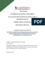 VINCES HUGO - CUADRO DIFICULTADES DE APRENDIZAJE LECTOESCRITURA