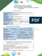 Guia  Paso 6 -Desarrollo propuesta de investigación