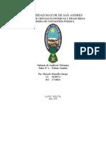 Taller 2- Gabinete de Auditoria Tributaria