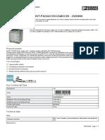 Alimentación de corriente - QUINT-PS2AC1DC24DC20 - 2320830