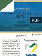 PLAN MUNICIPAL DE GESTION DE RIESGO DE DESASTRES palmira