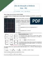 Estruturas de Concreto Armado - Exercício de Cálculo de Lajes