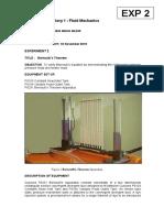 labSheet_KM20303_Fluid Mechanics_2 Bernoulli Theorem.doc