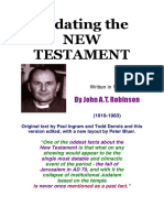 redating new testament