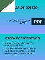 costos administracion