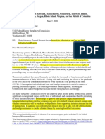 AG's Letter to FERC Re Moratorium Highlighted