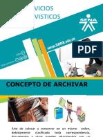 SERVICIOS ARCHIVISTICOS