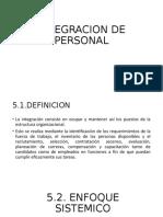 INTEGRACION DE PERSONAL UD.5
