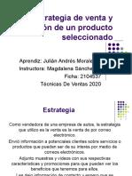 Video Presentación Estrategia de venta y distribución de un producto seleccionado